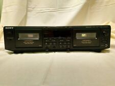 Sony Tc-We605S Dual Cassette Player w/Ams (Automatic Music Sensor) & Rms Dubbing