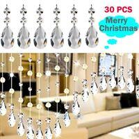 30pcs Christmas Drops Ornaments Festival Party Xmas Tree Hanging Decorations