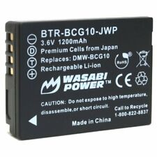 Wasabi Power Battery for Panasonic DMW-BCG10, DMW-BCG10E, DMW-BCG10PP