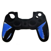 Sony PS4 Playstation 4 Silicone Skin Case Schutzhülle Cover - Blue-Black