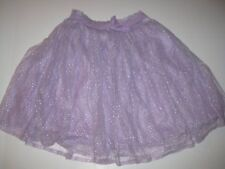 New NWT Naartjie Jie Jie Lurex Mesh Skirt Love Purple Size 9