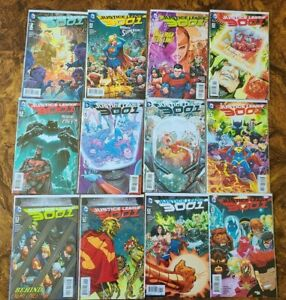 Justice League 3001 1-12 VF/NM Full Series JLI Booster Gold Blue Beetle