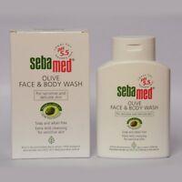SEBAMED Olive Face & Body Wash For Sensitive & delicate Skin 200ml Free Ship