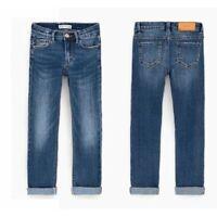 ✪ trendige ZARA Jeans Hose Gr. 134 Neu