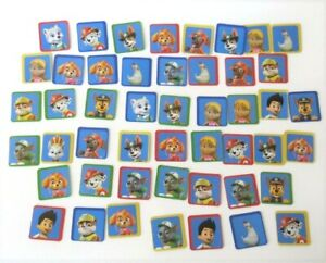 Nickelodeon Paw Patrol Flipolo Board Game 48 Tiles Complete Replacement Parts