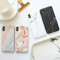 Marble Case Bumper Armour Shockproof Cover For Apple iPhone X XS XR Max 10 8 7 6