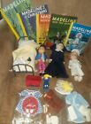 Lot Of Madeline Dolls Miss Clavel Nun Clothes Bed Camera Books Etc.