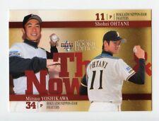 Shohei OHTANI rc / Mitsuo YOSHIKAWA 2013 BBM Then & Now #90 Japan ROOKIE Card