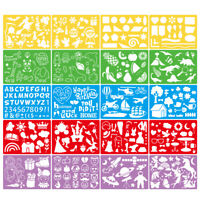 20pcs Plastic Bullet Journal Stencil Set Planner DIY Drawing Template Diary Tool