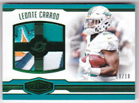 2016 Plates & Patches Rookie Quad Patches Green Leonte Carroo Jersey 10/10