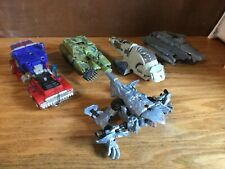 Lot Of 5 Transformer Toys Mixed Optimus Prime More