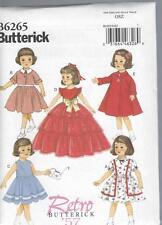 Butterick patrón de costura 18 pulgadas muñeca Ropa Vestido Chaqueta Petticoat Top 6265