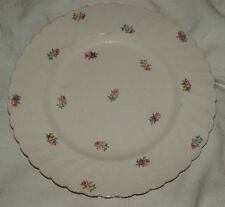 2 Royal Staffordshire Plates CLARICE CLIFF Devonshire Luncheon & Bread & Butter