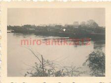 4 x Foto, Übergang über den Rhein, 1940  (N)1731