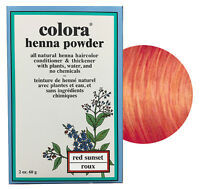 Colora Henna Powder All Natural Hair Color 60g Red Sunset