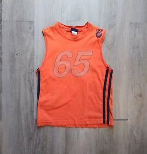 OSHKOSH The Genuine Article OKB Sleeveless Shirt Boys Size 5