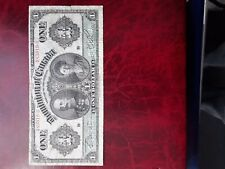 Canada 1911 one dollar note,Rare !