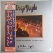 "Deep Purple Made in Europe LP Japon con ""OBI"""