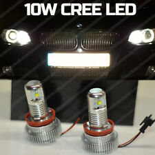 10W H8 CREE LED ANGEL EYES HALO RING SIDE MARKER Light Bulbs BMW E70 E82 E90 E92