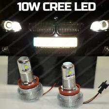 10W H8 CREE LED Angel Eyes Halo Ring Side Marker Light Bulbs BMW E70 E82 E90 E92