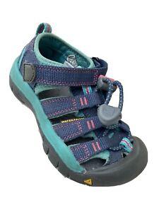 Keen Sandals Toddler Size 9 Girls Waterproof Shoes Slip On Hook & Loop