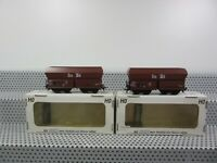 M+D H0 427/2/1 Güterwagen-Set 2-teilig Selbstentladewagen der DB in OVP T3
