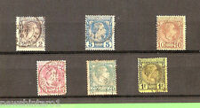 #D136. LOT OF 6 STAMPS - MONACO