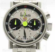 """Alain Silberstein """"Krono A"""" Chronograph Limited Edition with complete Box/Manual"""