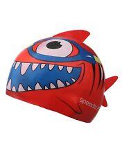 Speedo Junior Sea Squad Character Swimming Cap Red