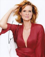 Cynthia Nixon Signed Autographed 8x10 Photograph