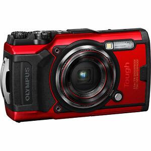 Olympus Tough TG-6 Digital Camera (Red) V104210RU000