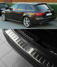 2007-2015 Audi A4 B8 8K Estate Chrome Arrière Protection Pare-chocs Scratch Guard S. Steel