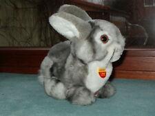 Wunderschöner Steiff Hase Häschen Dormili Osterhase Kaninchen grau-weiß KSF