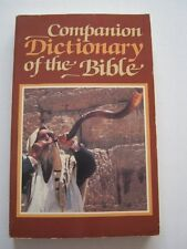 Companion Dictionary of the Bible