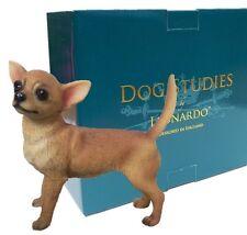 Chihuahua Dog Ornament Figurine Figure Gift Present Leonardo ii