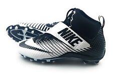 Nike Lunarbeast Pro Td Mid 3/4 Football Cleats Size 11 Black/White 839935-100