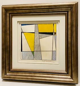 Superb & Rare Mixed Media Roy LICHTENSTEIN,Attr(1923-1997) (BAUHAUS,Picasso ERA)