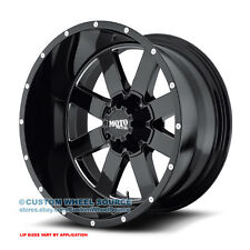"20"" Moto Metal 962 Black Rims w/ Federal 35X12.50R20 Ford Wheels and Tires"