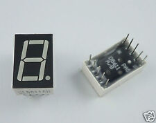 "50Pcs Red 0.56"" LED Display 1 Digital 7 Segment Common Anode"