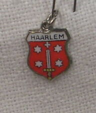 Vintage REU Sterling/Enamel Haarlem, Netherlands Shield Charm - New