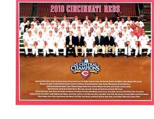 2010 CINCINNATI REDS 8X10 TEAM PHOTO  BASEBALL OHIO MLB USA CABRERA HOF