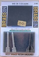 Eduard Brassin 1/48 EDB648136 Russian S-24 Rockets for MiG-21 kits
