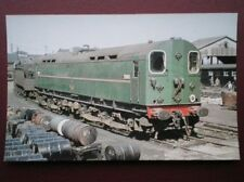 POSTCARD ELECTRIC CO-CO LOCO NO 20003 AT EASTLEIGH WORKS SEPT 1960