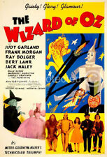 Wizard of Oz Vintage Judy Garland Movie Poster 2 -24x36