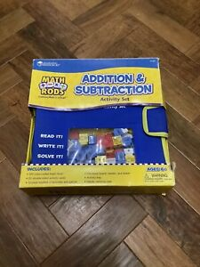 Math Rods Addition And Subtraction Activity Set