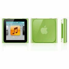 Apple Ipod Nano 6th Generación Verde (8GB)