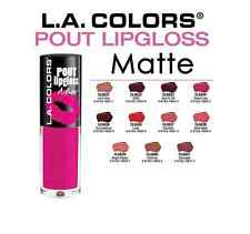 L.A.COLORS POUT Matte Lipgloss Full Set 11 Colors like L.A Girl