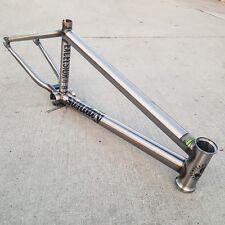 "SUNDAY BMX BIKE EXCELSIOR 21"" BICYCLE FRAME RAW MARK BURNETT PRIMO CULT"