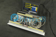 3 Axis DRO Digital Readout Linear Scale for Milling Lathe Machine 250+550+800mm
