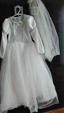 Girl/'s Fancy Dress Children/'S Nero e Bianco ha rubato Dalmata Print Wrap